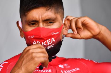 Según La Gazzetta, Nairo Quintana ahora querría ganar el Giro de Italia. Imagen de referencia del ciclista colombiano.