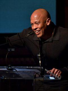 Dr. Dre, que recientemente fue internado por un aneurisma.