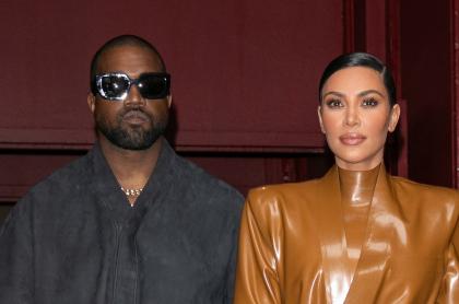 Kim Kardashian y Kanye West, que estarían a punto de divorciarse