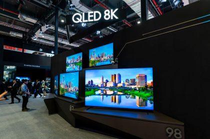 Televisores Samsung, marca coreana que presentó su propuesta para el 2021