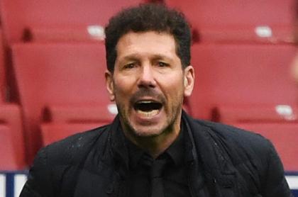 'Cholo' Simeone alerta con su posible salida del Atlético de Madrid. Imagen de referencia del entrenador argentino.