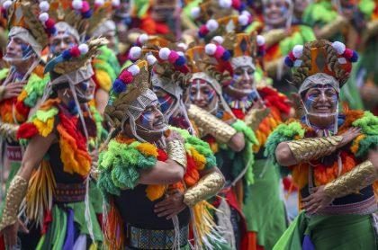 Imagen del Carnaval de Negros y Blancos, en Pasto