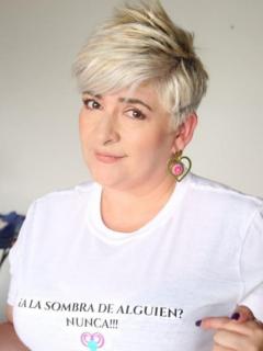 Foto de María Margarita Galvis, quien tiene COVID-19 y contagió a familiares