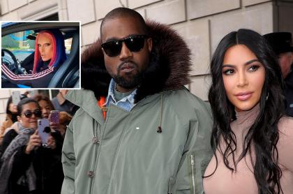Fotomontaje de Jeffree Star, Kanye West y Kim Kardashian, a propósito de supuesto trío amoroso