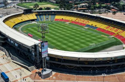 Millonarios no podrá usar El Campín debido a nueva cuarentena. Imagen de referencia del estadio bogotano.