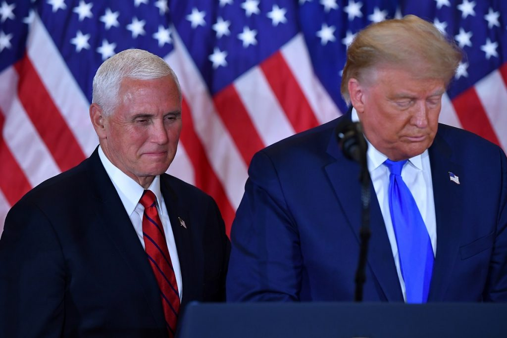 AFP / Donald Trump y Mike Pence