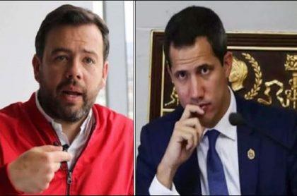 Carlos Fernando Galán dice que se pifió al reconocer a Juan Guaidó como presidente