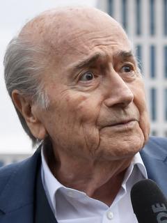 Joseph Blatter, expresidente de la Fifa, fue hospitalizado. Imagen de referencia del exdirectivo suizo.