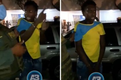 Ladrón capturado en Santa Marta que dio insólita excusa a los policías