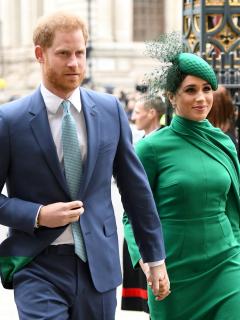 Foto de Príncipe Harry y Meghan Markle, a propósito de su primer año fuera de la realeza británica