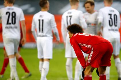 Bayern perdió 3-2 ante el Moenchengladbach en Bundesliga.