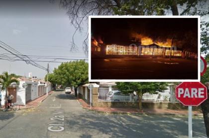 Incendio en Cúcuta: 7 personas murieron en una vivienda