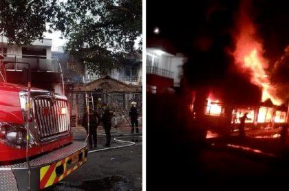 Incendio en Cúcuta: causa del incendio fue corto circuito en pesebre
