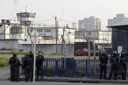 Foto de cárcel Modelo de Bogotá, a propósito de suspensión de visitas en cárceles de Colombia.