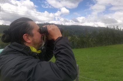 Ingeniero ambiental Juan Antonio Aragón