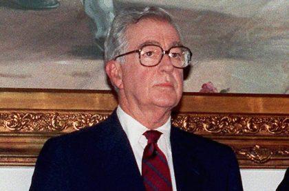 Virgilio Barco, expresidente de Colombia  entre 1986 y 1990, señalado como responsable del exterminio de la UP.