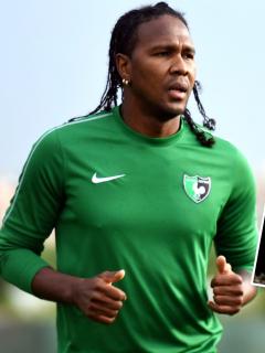 """Rodallega: """"Me encantaría ponerme la camiseta del América"""". Imágenes de referencia del jugador colombiano."""