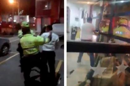 Video: denuncia brutalidad policiaca en Suba, Bogotá