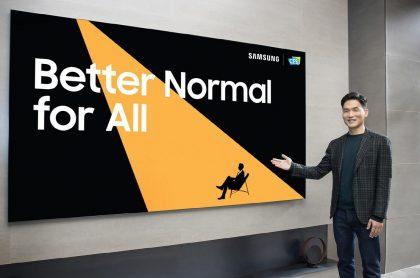 Sebastian Seung, presidente de Samsung Research, dio a conocer en el CES 2021 las últimas innovaciones de la compañía surcoreana.