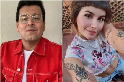 Fotomontaje de Juan Carlos Giraldo y Martina 'la Peligrosa', a propósito de pulla amorosa