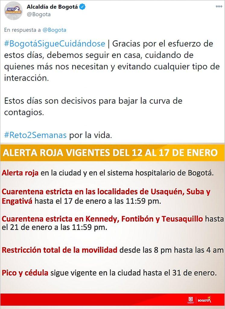 Twitter @Bogota