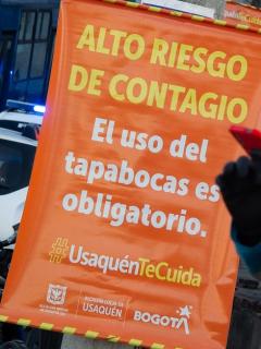 Este martes serán seis las localidades de Bogotá en cuarentena estricta, pero la alcaldesa Claudia López advirtió peligro para otras dos.