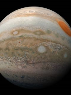 Júpiter, quinto planeta del Sistema Solar.