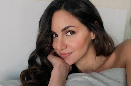 Selfi de Valerie Domínguez, ilustra nota sobre datos de ella como su cumpleaños, su edad, su noviazgo con 'el Pollo' y su prima Shakira.