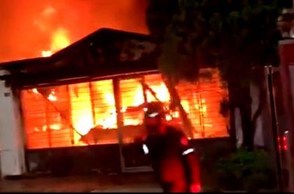 Este fue el incendio que acabó con la vida de Ana Benilda Becerra