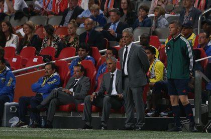 Foto de Rueda y Mendoza ilustra nota sobre el nuevo asistente de la Selección Colombia