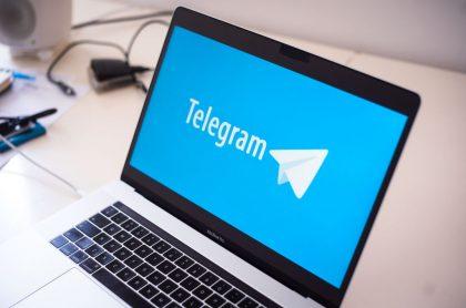Foto de Telegram ilustra nota sobre Pável Dúrov: fundador de Telegram, app que registró récord en descargas