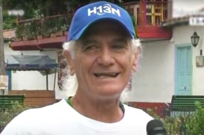 Muere a los 80 años de edad el atleta colombiano Álvaro Mejía Flores. Imagen de referencia del deportista.