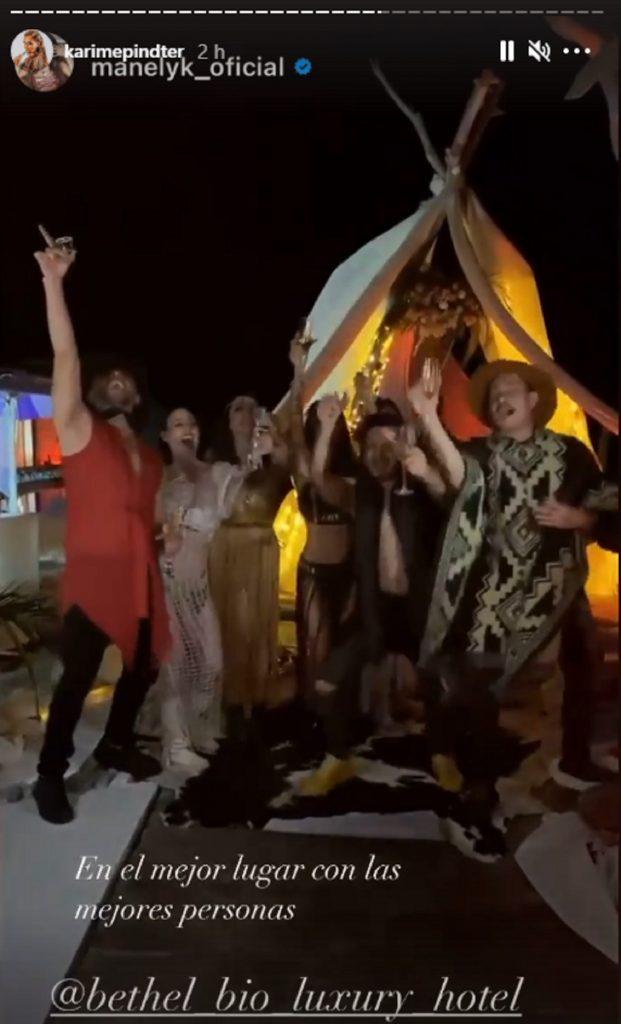 Elenco de Acapulco Shore, de fiesta en Colombia / Instagram de @karimepindter