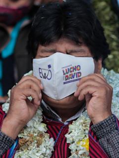 Evo Morales tiene coronavirus.