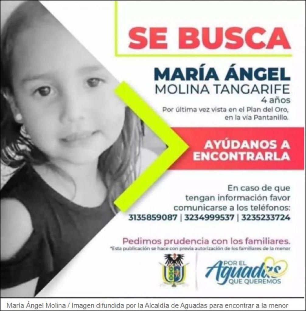 María Ángel Molina Tangarife / Imagen difundida por la familia
