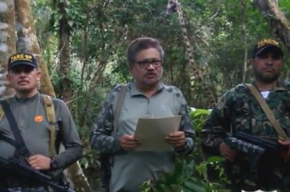 Iván Marquez reaparece pidiendo revocatoria de Iván Duque