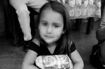 María Ángel Molina, menor que murió tras ser raptada y lanzada a un río, al parecer, por un militar