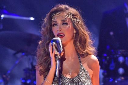 Anahí Puente, cantante que se contagió de COVID-19 en el concierto tributo a RBD