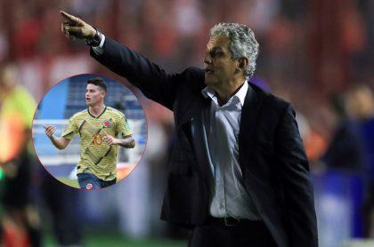 Reinaldo Rueda, nuevo técnico de Colombia, habló de James Rodríguez.