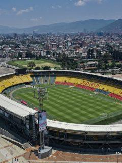Estadio El Campín ilustra nota sobre que Bogotá no prestará estadios a equipos de la ciudad