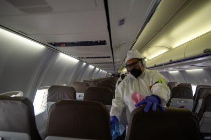 Pasajero estadounidense llegó a Bogotá contagiado de coronavirus