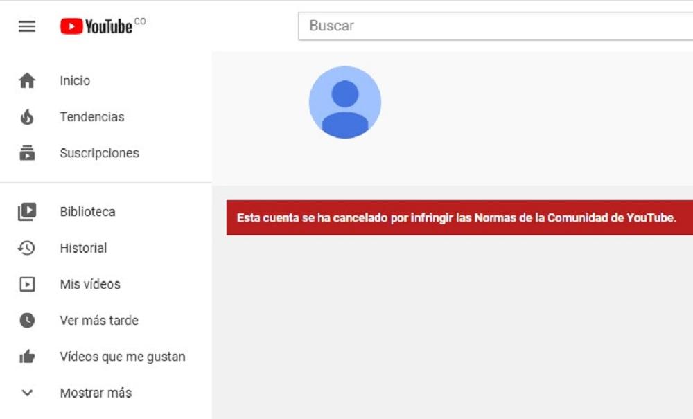 Captura imagen de YouTube