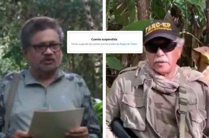 Twitter y YouTube bloquean cuentas de disidencias de Farc