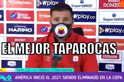 Memes para la eliminación de América en Copa Colombia ante el Pasto.