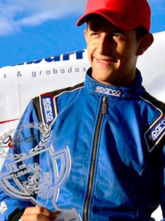 Alejandro Luengas, otro piloto colombiano que despunta en el mundo.