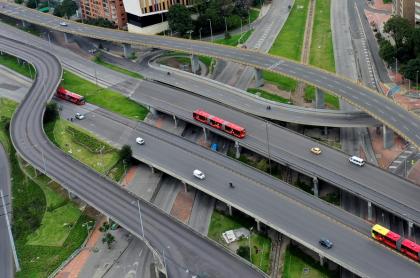 Aplazan el tradicional día sin carro y sin moto en Bogotá. Imagen de referencia de la cidudad.