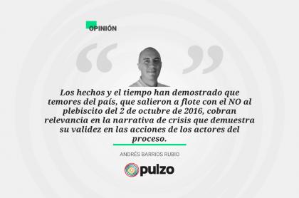 Frase destacada sobre columna de Iván Márquez