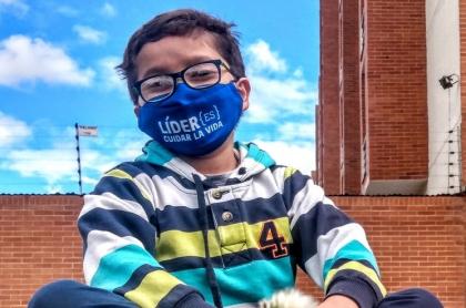 Un individuo amenazó a Francisco Vera Manzanares, niño ambientalista colombiano.