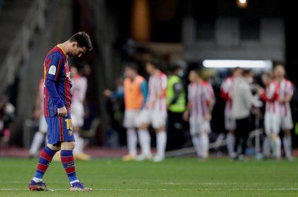 Barcelona perdió la final de la Copa del Rey contra Athletic hoy.