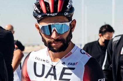 Fernando Gaviria, confirmado para el Giro de Italia y Pogacar, para Tour y Vuelta. Imagen de referencia del ciclista colombiano.